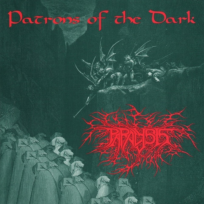 Paralysis - Patrons of The Dark ALbum Cover
