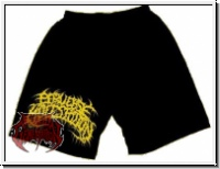 PERVERSE MOLESTATION - Yellow Logo (M) Short