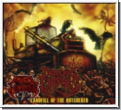 DRAGGING ENTRAILS - Landfill Of The Butchered CD