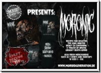 MORONIC - Recipes For Disaster TS+CD