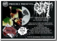 GUT - Odour Of Torture+Demo CD