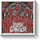 FLESH GRINDER - Necrofiles EP (red)